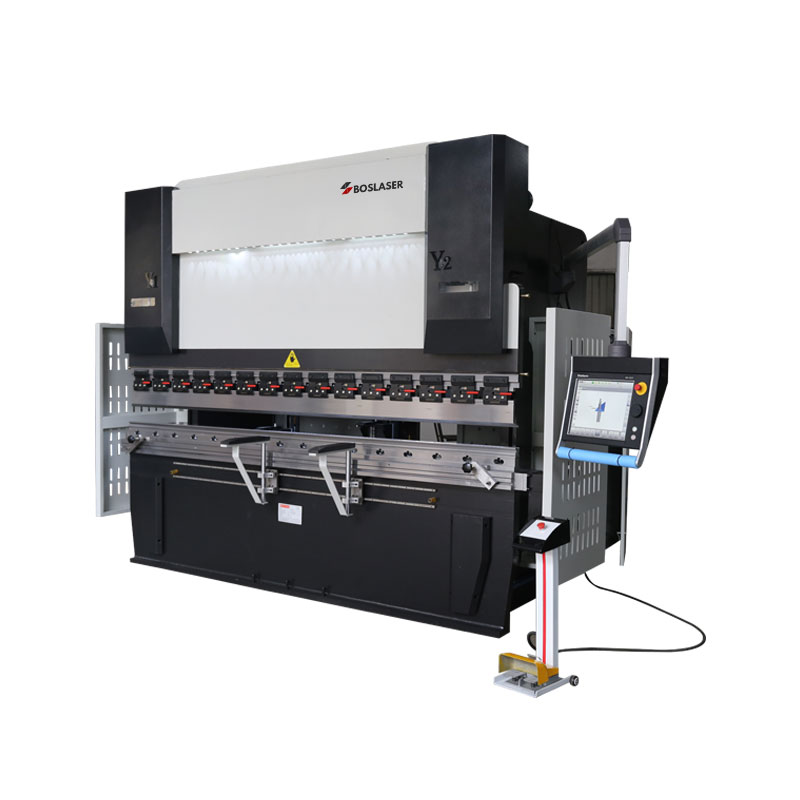 8+1 Axis CNC Hydraulic Press Brake Machine with DA-66T 3D