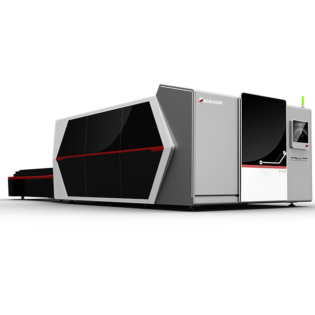 Closed Type CNC Fiber Laser Cutting Machine with Exchange Table