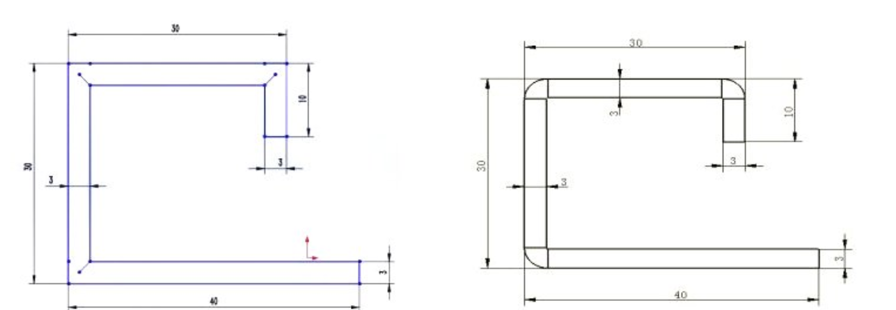 estimating the metal plate unfolding length - boslaser